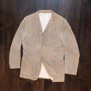 Burberry suede leather jacket size 40R